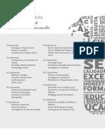 Pemsum - Licenciatura en Trabajo Social y Gestión del Desarrollo / UCA