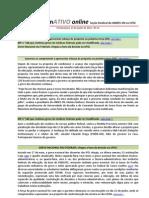 Informativo Online n° 11