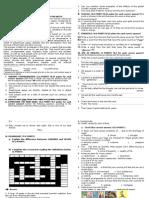 PAU Test + Vocab - 2