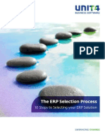 White Paper - The ERP Selection Process - 10 Steps