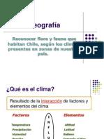 Clima-flora y Fauna de Chile