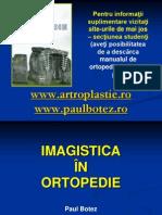 Imagistica in Ortopedie