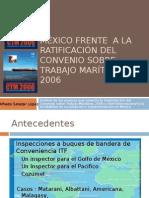 MÉXICO FRENTE  A LA RATIFICACIÓN DEL CONVENIO SOBRE