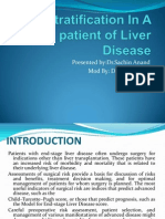 Risk Stratification in a Patient of Liver Disease