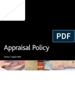 Appraisal Policy UK