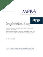 MPRA Paper 7708