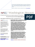 AALU Washington Report