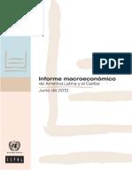 Informe Macroeconómico 2012 CEPAL
