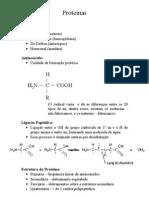 Proteínas, membrana e citoplasma