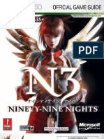 N3 Ninety-Nine Nights - Prima Official Game Guide XBOX360
