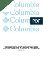 Catalogo Columbia Febrero 2012 Disponible (Sin Precio)
