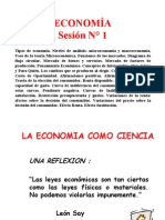 1 Sesion de Economia