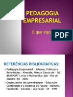 PEDAGOGO EMPRESARIAL E GESTÃO DO CONHECIMENTO