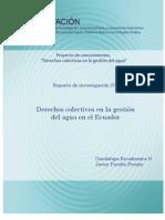 Derechos Colectivos Ecuador