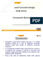 Prestressed for Composite Sections