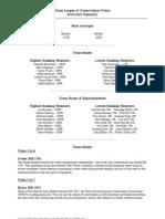TLCV 2001 Scorecard
