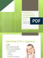 Agonistas y Antagonistas de Receptores 5-HT