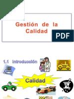 Gestión. calidad UNIDAD -1. 2011
