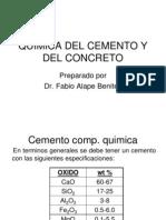 Quimica Del Cemento y Del Concreto