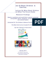The State of Black Children & Families