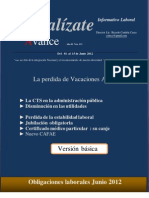 Avance Edicion Basica Del 01 Al 15 de Junio 2012