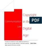 Copyright and the Digital Age