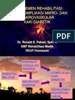 Manajemen Rehabilitasi Komplikasi Vaskular Kaki Diabetik