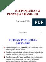 KarakterisasiMaterial Test Procedurekuliah3