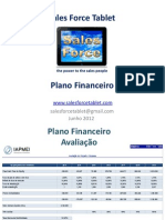 Sales Force Tablet - Plano Financeiro