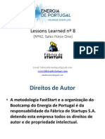 Energia de Portugal - Lessons Bootcamp nº8