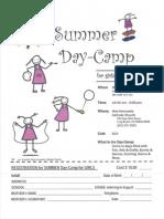 Summer Girls' Camp 2012