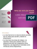 Tipos de Vista de Power Point