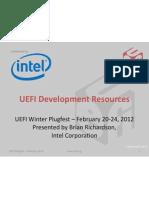 UEFI Plugfest 2012Q1 Intel