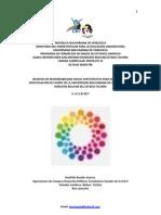 Esencia y Vision y Deber de La Unidad de Investigaciones de Campo Ubv. Bolivar Tachira