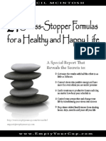 21Stress-Stopper Formulas For a Healthy and Happy Life