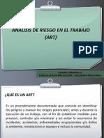 ART (ANALISIS DE RIESGO EN EL TRABAJO)