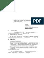 MODELO DE DEMANDA DE INDEMNIZACION DE DAÑOS Y PERJUICIOS POR EJERCICIO IRREGULAR O ARBITRARIO DEL DERECHO DE ACCION