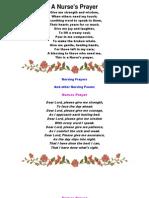 A Nurse Poem