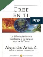 Cree en Ti Alejandro Ariza Libro Edicion