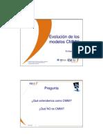 Evolucion de Los Modelos CMMI