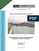 1 estudio hidrológico cuenca rímac - volumen i - texto - final 2010