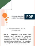 Responsabilidad Social de Las Empresas Sustentables