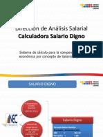 Calculadora Del Salario Digno MRL