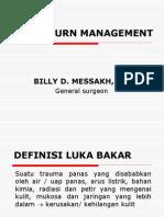 Acute Burn Management BIL