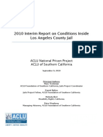2010 Interim Report on Conditions Inside Los Angeles County Jail