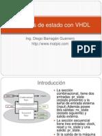 Maquinas de Estado Con VHDL