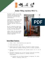 LPG Cylinder Filling Machine MK17-2.