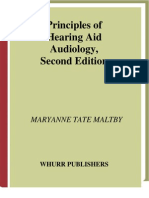 Principles of Hearing Aid Audiology