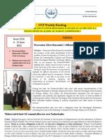 OTP Weekly Briefing 6-11 June 2012 #124