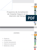 Hospitales Seguros Dengue